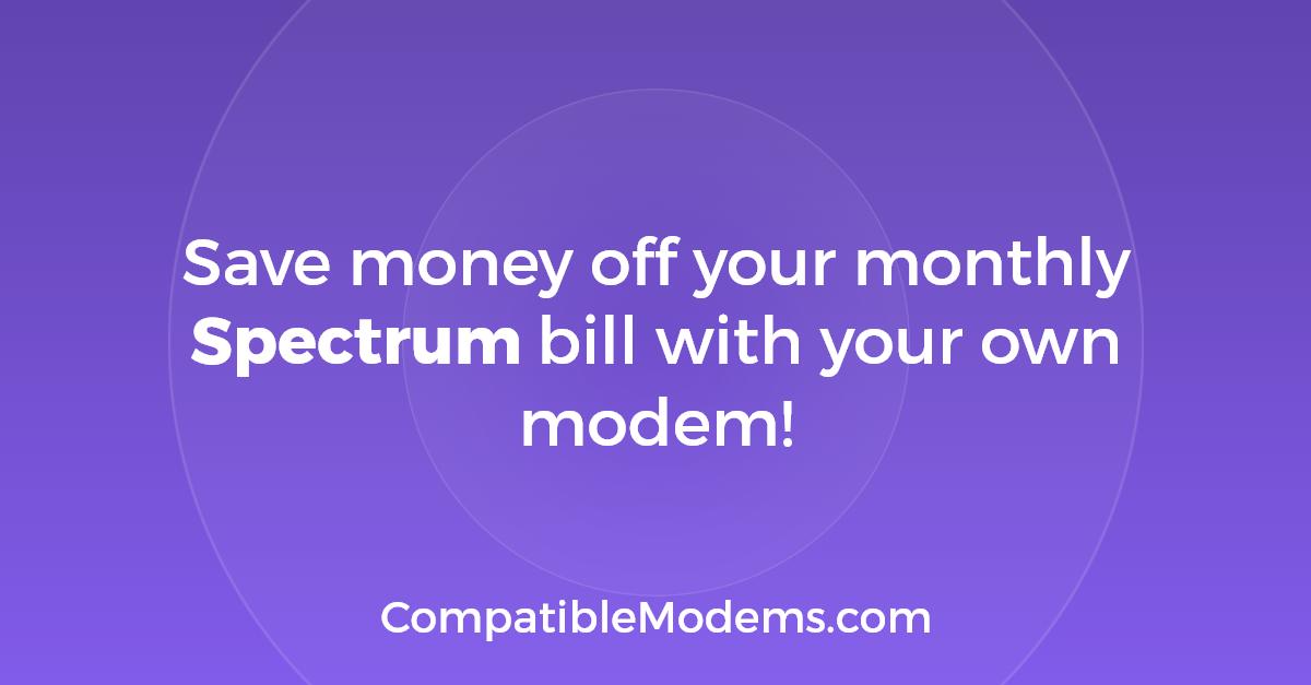 spectrum activate modem